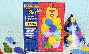 Easy Kit Clown, Höhe 1.30m 763456