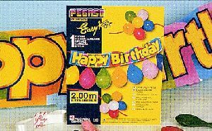 Easy Kit Happy Birthday, Länge 2m 763457