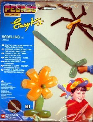 Kit Modelling Set, 16 Ballone/1 Pumpe, F/ass. 763461