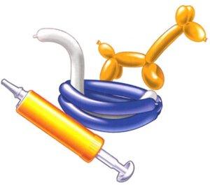 Riethmüller 10 Modellierballone mit Pumpe 763483605
