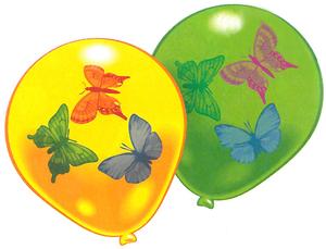 Riethmüller 8 Ballone Schmetterlinge ass. 763483681
