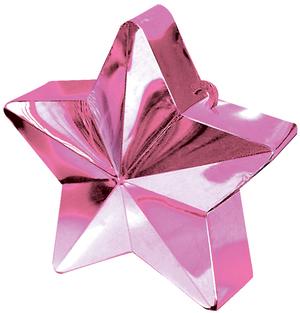 Amscan Ballongewicht Stern pink 76380006