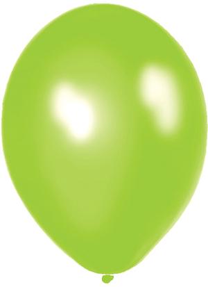 Amscan 50 Ballone hellgrün 27.5cm 763990464