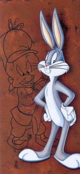 Bugs Bunny 33x70cm 82047001