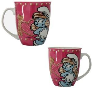 Schlümpfe Tasse pink 350ml 8300807585