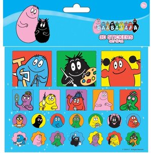 Barbapapa 3D Stickers ass. 83051213