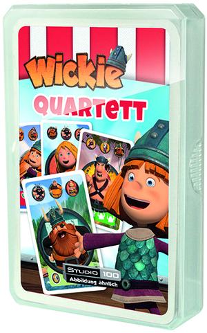 Wickie Quartett 830560