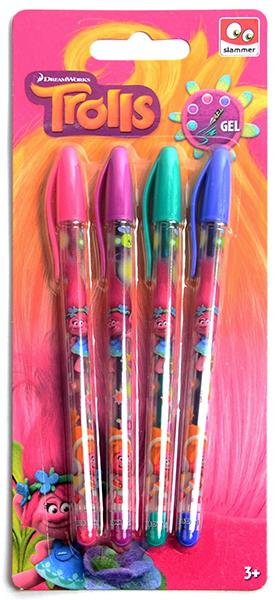trolls 4 farbige Stifte 83099968