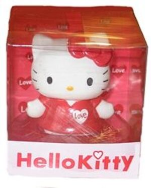 Hello Kitty Schwimmseife in Display 7cm RED 86010008