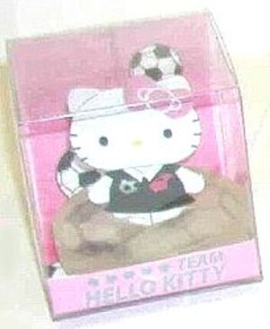 Hello Kitty Schwimmseife im Display 7cm PINK 86010027