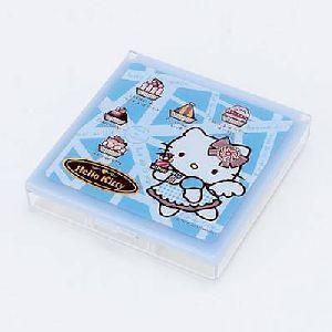 Plastikbox mit Spiegel CHOCOLAT 10cm 860498891