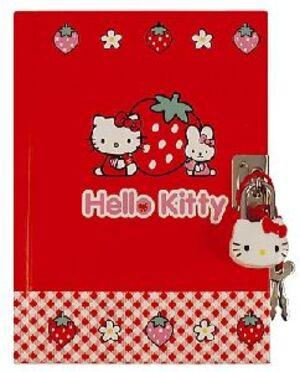 Tagebuch 15.5cm STRAWBERRY 860785954