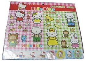 Mehrmals verwendbare Sticker & Blatt 30cm HOUSE 860917168