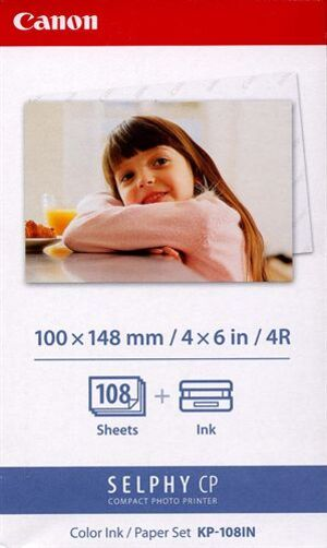 Canon CP-xxx Papier KP-108IN (100x150 mm 3115B001