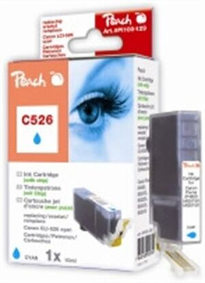PEACH Tinte Canon CLI-526 cyan XL PI100-129
