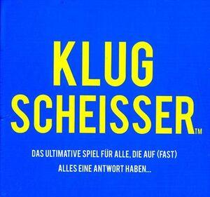 Kylskapspoesi Klugscheisser, d ab 12 Jahren, ab 2 Spieler, mit 300 kuriosen Fragen 62644001