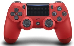 SONY PS4 Dualshock 4 Controller red 9814153