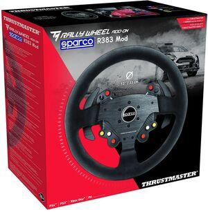 Thrustmaster TM Rally Sparco R383 Wheel Add-On [PC/PS4/XONE] HN00TH00155