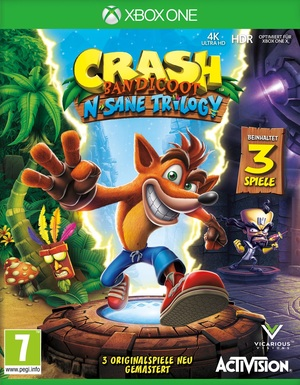 Activision Crash Bandicoot N. Sane Trilogy, Xbos One 88196gm