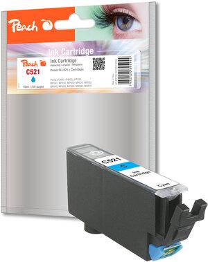 PEACH Tinte Canon CLI-521c cyan XL PI100-82