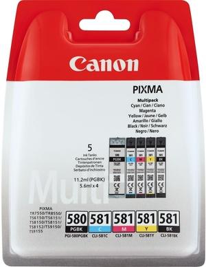 Canon INK PGI-580/CLI-581 BK/CMYK 2078C005