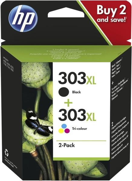 HP Ink Cart. 3YN10AE No. 303XL für EnvyPhoto 6230/6232/7130/ 7134/7830 Multipack (bk/c/m/y) high 3YN10AE