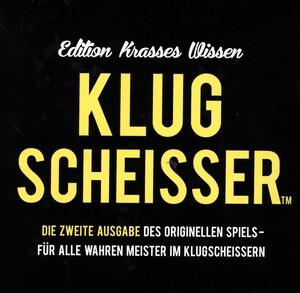 Kylskapspoesi Klugscheisser 2, d Black Edition, ab 12 Jahren, ab 2 Spieler 62643011