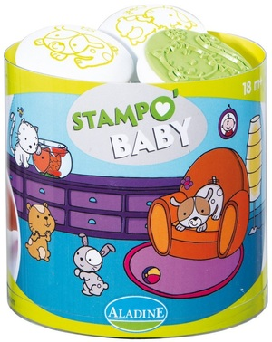 AladinE Stampo Baby Haustiere 3801A3