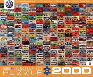 eurographics puzzles The VW Groovy Bus - Puzzle [2000 Teile] HN00EU20783