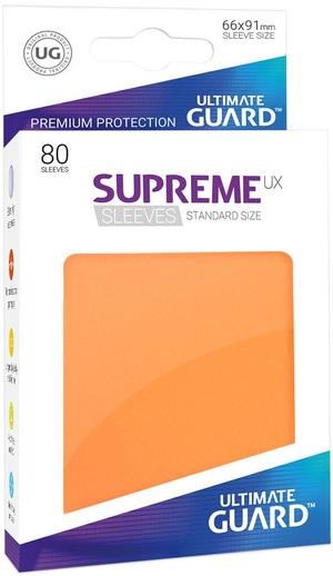 ULTIMATE GUARD Supreme UX Sleeves Standard - Orange (80) UGD10545