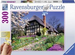 Ravensburger Puzzle Landhaus im Frühling 300 Teile XXL, Softclick, 49x36 cm, ab 10 Jahren 60013684