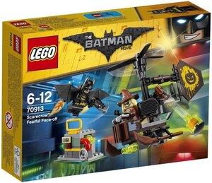 LEGO Kräftemessen mit Scarecrow Lego Batman Movie, 141 Teile, 6-12 Jahre 70913