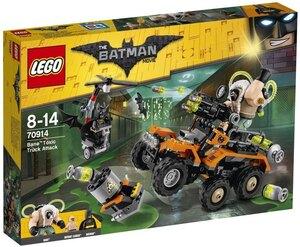 LEGO Der Gifttruck von Bane Lego Batman Movie, 366 Teile, 8-14 Jahre 70914