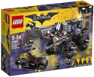 LEGO Doppeltes Unheil durch Two- Face, Lego Batman Movie, 564 Teile, 9-14 Jahre 70915