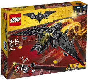 LEGO Batwing Lego Batman Movie, 1053 Teile, 9-14 Jahre 70916