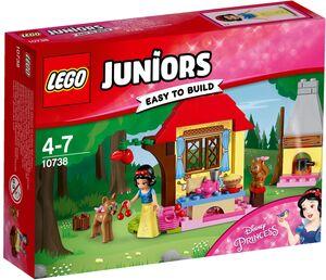 LEGO Schneewittchens Hütte i.Wald Lego Juniors Princess, 4-7 Jahre 10738