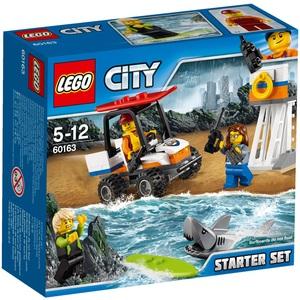 LEGO Küstenwache Starter-Set Lego City, 5-12 Jahre 60163