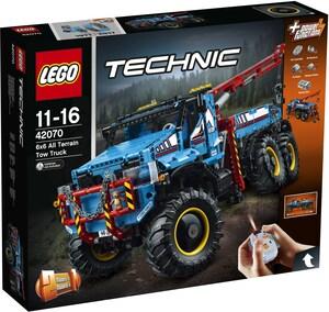 LEGO Allrad-Abschleppwagen Lego Technic, 2 in 1, 11-16 Jahre 42070A1