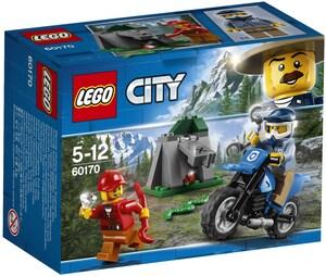 LEGO Offroad Verfolgungsjagd Lego City, ab 5 Jahren 60170A1