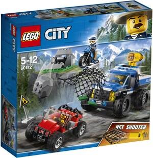 LEGO Verfolgungsjagd a. Schotter- pisten, Lego City, ab 5 Jahren 60172