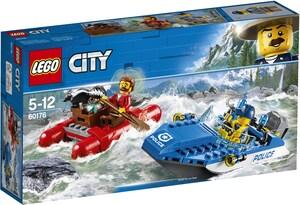LEGO Flucht durch die Strom- schnellen, Lego City, ab 5 Jahren 60176