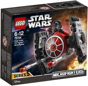 LEGO First Order TIE Fighter Microfighters, Lego Star Wars, ab 6 Jahren 75194