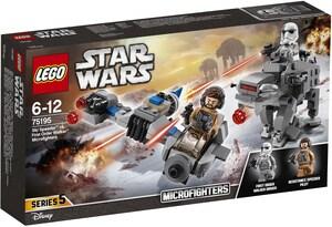 LEGO Ski speeder vs. First Order Walker, Lego Star Wars, ab 6 Jahren 75195