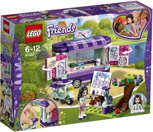 LEGO Emmas rollender Kunstkiosk Lego Friends, ab 6 Jahren 41332A1