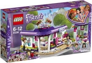 LEGO Emmas Künstlercafé Lego Friends, ab 6 Jahren 41336