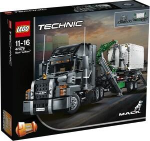 LEGO Mack Truck Lego Technic, ab 11 Jahren 42078
