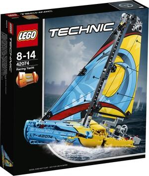 LEGO Rennyacht Lego Technic, ab 8 Jahren 42074
