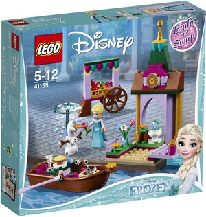 LEGO Elsas Abenteuer auf d.Markt Lego Disney, ab 5 Jahren 41155