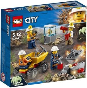 LEGO Bergbauteam Lego City, ab 5 Jahren 60184A2