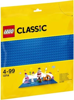 LEGO Bauplatte blau Lego Classic, ab 4 Jahren 10714